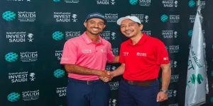الهيئة العامة للاستثمار تواصل دعمها لمحترف الجولف السعودي الأول عثمان الملا