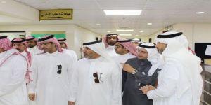 مدير مكافحة المخدرات بمنطقة مكة يزور مجمع الصحة النفسية بجدة