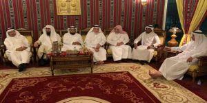 رجل الاعمال المهندس عبدالعزيز سندي يستضيف اعضاء مجلس ادارة مركز حي النزهة بمكة المكرمة