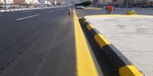 أمانة العاصمة المقدسة تعيد تهيئة شارع عتاب بن اسيد ببطحاء قريش