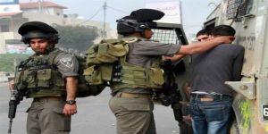 جيش الإحتلال يعتقل ثلاثة فلسطينيين
