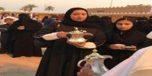 الأميرة أضواء آل سعود تفتتح ركن مكة في مهرجان معية الخبراء ٤