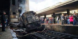 محكمة الجنايات المصرية تقضي بسجن المتهم في حادث قطار محطة مصر 15 سنة