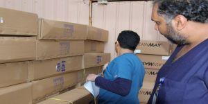 تفعيلا لحملة الحد كورونا صنائع تقوم بتوزيع أكثر ٤٠٠ سلة غذائية وتوزيع أدوات صحية ومعقمات
