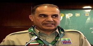 رئيس اللجنة الكشفية العربية الطريجي يشيد بجهود إعلامية رواد العرب في مواجهة COVID-19