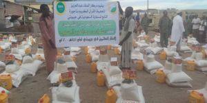 الشؤون الإسلامية توزع 300 سلة غذائية رمضانية بمدينة تاجورا بجيبوتي