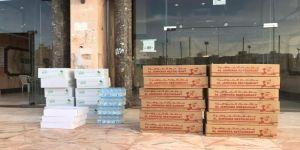 مركز حي العوالي يوزع وجبات إفطار صائم على مساكن عمال جنوب شرق مكة