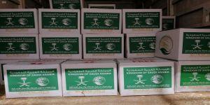 مركز الملك سلمان للإغاثة يواصل توزيع السلال الغذائية الرمضانية للأسر الأردنية والفلسطينية والسورية في الأردن