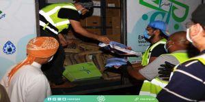 سفراء التطوع توزع ١٠٠ سلة غذائية على مستحقيها في حي الرويس بجدة