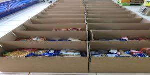 ٧٠٠ سلة و ٥٠٠ حقيبة طبية لأسر السجناء بجدة