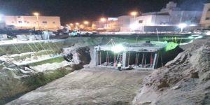 إنجاز 90٪ من تنفيذ مشروع شبكة تصريف مياه الأمطار والسيول بمخطط الشرائع 5