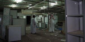 ضبط 3 معامل مخالفة لإنتاج وبيع مطابخ الالمنيوم في وادي جليل