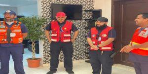 مدير عام الهلال الأحمر بالجوف ينقل معايدة معالي رئيس الهيئة لمنسوبيها العاملين بالميدان