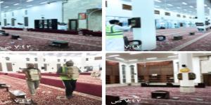 مساجد سكاكا معقمه وجاهزة لاستقبال الذاكرين