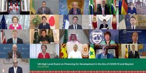 السعودية تشارك مع منظمة الأمم المتحدة مناقشة حلول تعزيز تمويل التنمية في فترة جائحة فيروس كورونا وما بعدها