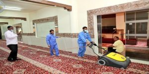 تحت شعار كلنا مسئول: جامعة شقراء تطلق مبادرة لنظافة وتعقيم المساجد بمحافظة شقراء