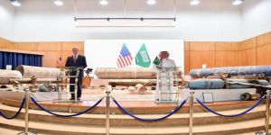 المملكة تعمل مع الولايات المتحدة لمنع إيران من تصدير الأسلحة ومطالبة المجتمع الدولي بتمديد حظر بيع الأسلحة لإيران
