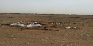 #عاجل موظف حكومي يغرق قريته بجثث المواشي بحثا عن البترول
