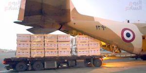 وصول طائرتين تحمل مساعدات مقدمة من الحكومة المصرية للسودان