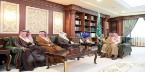 الأمير محمد بن ناصر يستقبل مدير جامعة جازان ورئيس المحكمة العامة