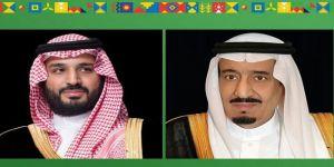 خادم الحرمين الشريفين وسمو ولي العهد يتلقيان التهنئة من الرئيس المصري بمناسبة اليوم الوطني الـ 90