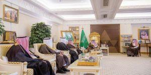 أمير القصيم يستقبل رئيس وأعضاء مجلس إدارة جمعية العقيلات
