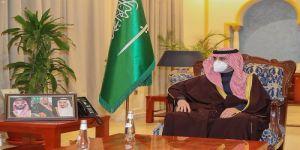 أمير منطقة الجوف يستقبل سفير جمهورية باكستان لدى المملكة