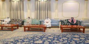 أمير منطقة الجوف يستقبل رئيس وأعضاء مجلس إدارة نادي الجندل