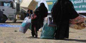 مركز الملك سلمان للإغاثة يوزع 650 حقيبة شتوية للنازحين بمحافظة الجوف اليمنية