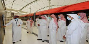 القويحص يزور مشروع الملك عبدالعزيز للنقل العام بمدينة الرياض