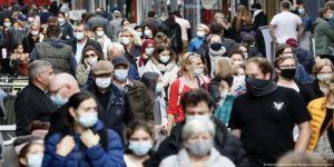 9997 إصابة جديدة بكورونا في ألمانيا ليرتفع إجمالي المصابين إلى مليونين و424684