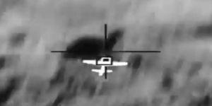 تدمير طائرة مفخخة أطلقها ميليشيا الحوثي الإرهابية المدعومة من إيران بإتجاه خميس مشيط