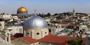 سلطات الاحتلال تقيم حديقة توراتية على أسطح الأسواق التاريخية بالقدس
