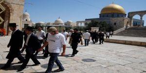 اقتحامات يهودية وطقوس تلمودية بساحات المسجد الأقصى