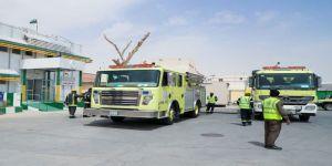 تمرين إستجابة لحريق مركز صحي الصرار
