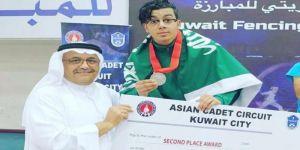 الدولي للمبارزة يختار لاعب المنتخب السعودي البحراني ضمن أفضل لاعبي العالم