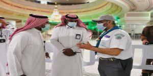 كشافة تعليم مكة يباشرون مواقع جديدة في المرحلة الثانية بالمسجد الحرام