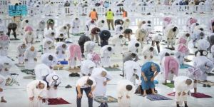 ضيوف الرحمن ينعمون بالخدمات وسط منظومة الإجراءات الصحية في العشر الأواخر
