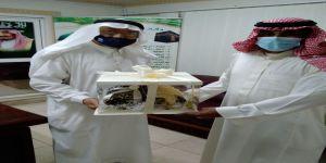 مركز نزهة مكة يكرم صحيفة بث على جهودها المتميزة