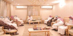 رئيس مركز القوز في ضيافة الإعلامي محمد الشرقي بمناسبة عيد الفطر المبارك