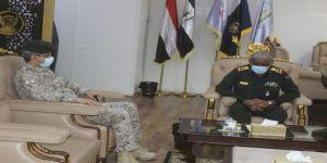 رئيس اركان الجيش السوداني يلتقي بالملحق العسكري للمملكة بالخرطوم