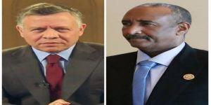 رئيس المجلس السيادي السوداني يبعث ببرقية تهنئة لملك الأرن