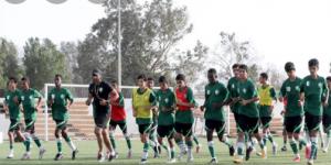 الأخضر يقيم معسكراً في جدة ضمن خطة الإعداد لآسيا 2023