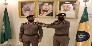 مدير مدني العاصمة المقدسة يقلد العميد سعد الراجحي رتبته الجديدة