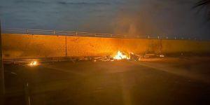 استهداف مطار بغداد الدولي بثلاث طائرات مسيرة